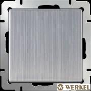 Выключатель одноклавишный проходной Werkel глянцевый никель