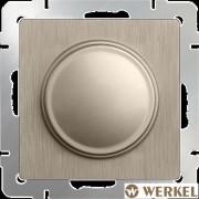 Диммер (светорегулятор) Werkel шампань рифленый
