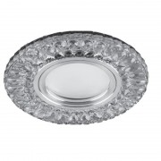 Встраиваемый светильник с LED-подсветкой Feron CD906 белый, хром