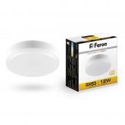 Лампа светодиодная Feron LB-453  GX53  12w  2700k