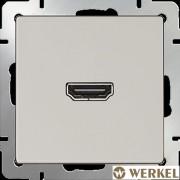 Розетка HDMI Werkel слоновая кость