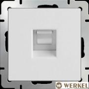 Розетка компьютерная RJ-45 Werkel белый