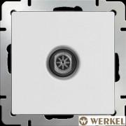 Розетка ТВ оконечная Werkel белый