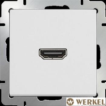 Розетка HDMI Werkel белый