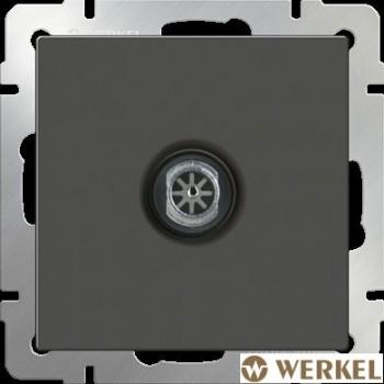 Розетка ТВ оконечная Werkel серо-коричневый