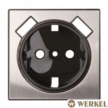 Накладка для USB розетки Werkel глянцевый никель