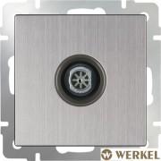Розетка TV Werkel глянцевый никель