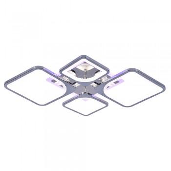 Светодиодная люстра 10005/2+2 CHR RGB