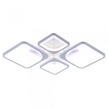 Светодиодная люстра 10005/2+2 WHT (BL+YL)
