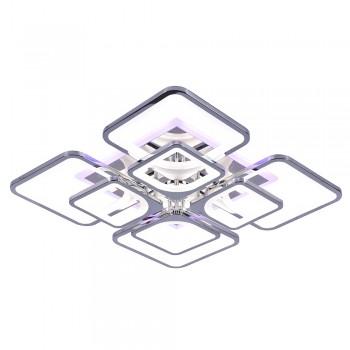 Светодиодная люстра 10005/4+4 CHR RGB