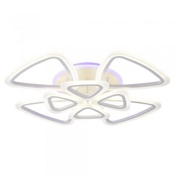 Светодиодная люстра 10007/4+4 WHT
