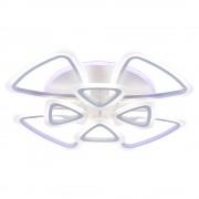 Светодиодная люстра 10007/4+4 WHT (BL+YL)